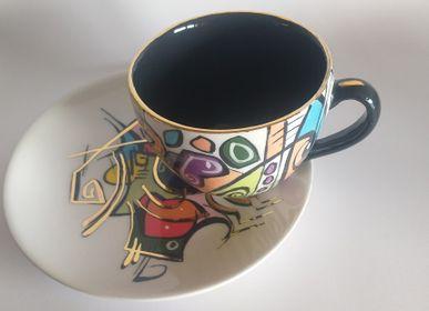 Céramique - ENIGMA Tasses/Soucers/NERA - ENIGMA