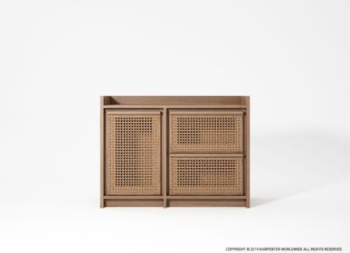 Sideboards - ROOTS SIDEBOARD WITH DOOR & 2 DRAWERS - KARPENTER