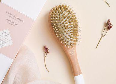 Accessoires à poser - Hair brush - Boar & Nylon bristles - detangle and smooth - BACHCA