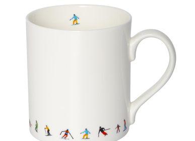Mugs - SKI CHAIN MUG - POWDERHOUND