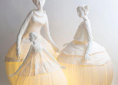 """Unique pieces - lamp """"Mademoiselle"""" - PAPIER À ÊTRES"""
