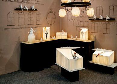"""Unique pieces - Lamp """"Skylight"""" - PAPIER À ÊTRES"""