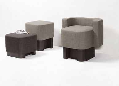 Design objects - LLOYD ARMCHAIRS AND POUFS - GIOBAGNARA