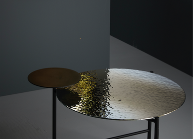 Tables basses - Table basse en verre MIRAGE - RADAR INTERIOR