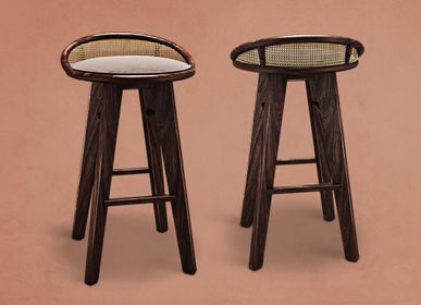Stools - Brummell Bar Stool  - WOOD TAILORS CLUB