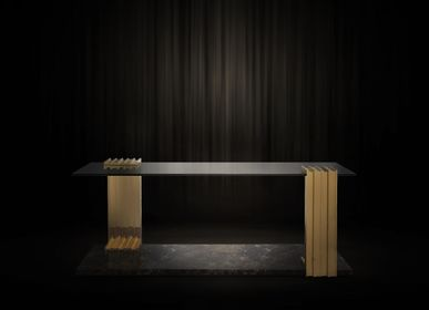 Coffee tables - Vertigo Long Side Table - LUXXU