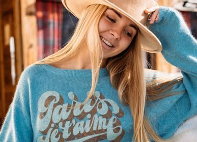 Ready-to-wear - SWEATER PARIS I T LOVE - FABULOUS ISLAND LTD