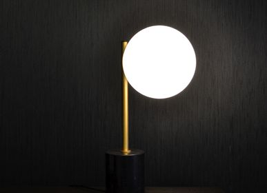 Floor lamps - Lamp with marble foot - DÔME DECO