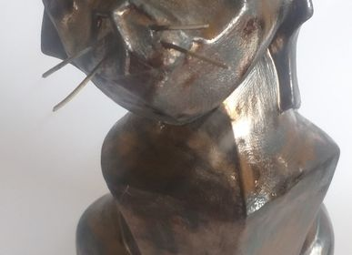 Céramique - ENIGMA Sculpture/Chat - ENIGMA