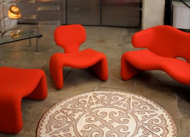 "Design - Carpet ""Asman"" made of merino wool felt - SEZIM DESIGN"