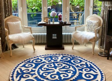"Design - Carpet ""Kalkan"" made of merino wool felt - SEZIM DESIGN"