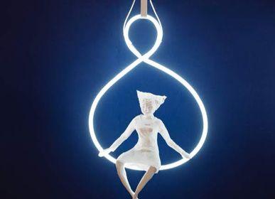 Pièces uniques - lampe «Cirque», néon - PAPIER À ÊTRES