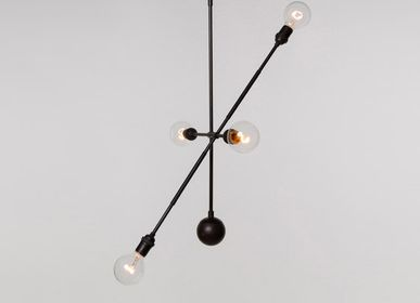 Outdoor hanging lights - HIGHWIRE LARGE - TONICIE'S