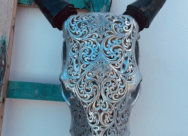 Decorative objects - SKULL Wall Decoration - CASA NATURA