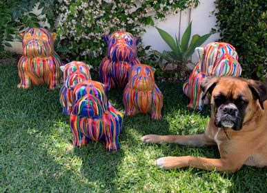 Decorative objects - DOG Statue - CASA NATURA