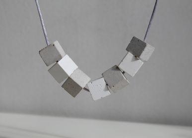 Bijoux - Collier contemporain en béton - CHAPITRE MAISON