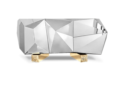 Sideboards - DIAMOND PYRITE SIDEBOARD - INSPLOSION