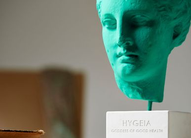 Sculptures, statuettes and miniatures - Hygeia head statue - SOPHIA ENJOY THINKING