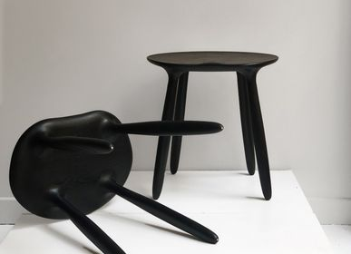 Stools - Stained Ash Daiku Stool by Victoria Magniant - VICTORIA MAGNIANT POUR GALERIE V