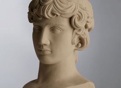 Sculptures / statuettes / miniatures - Antinoos head statue - SOPHIA ENJOY THINKING