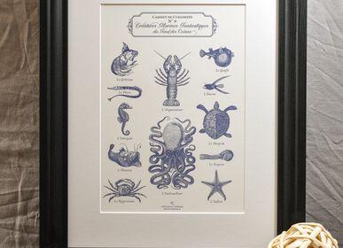 Poster - Art print Fantastic Marine Creatures - L'ATELIER LETTERPRESS