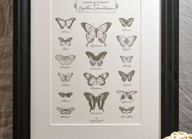 Poster - Art print Extraordinary Butterflies - L'ATELIER LETTERPRESS