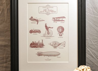 Poster - Art print Wild Machines for Modern Transport - L'ATELIER LETTERPRESS
