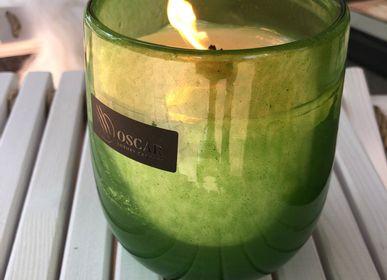 Home fragrances - Green Glass Collection - OSCAR CANDLES