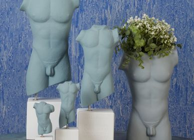 Sculptures, statuettes et miniatures - Statue torse mâle et femelle - SOPHIA ENJOY THINKING