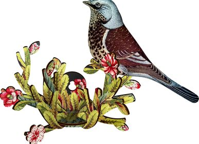 Other wall decoration - Latin Lover - Decorative bird with branch - MIHO UNEXPECTED THINGS