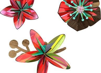 Other wall decoration - Tropical Breeze - Decorative flower - MIHO UNEXPECTED THINGS
