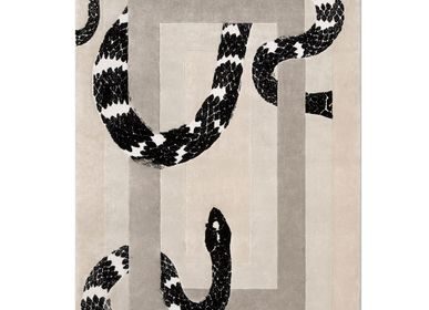 Other caperts - IMPERIAL SNAKE NEUTRAL RUG - INSPLOSION