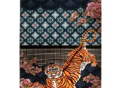 Design carpets - The Tyger - Made in italy woven rug - MIHO UNEXPECTED THINGS