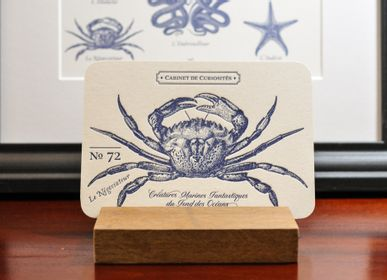 Stationery / Card shop / Writing - Card Crab - L'ATELIER LETTERPRESS