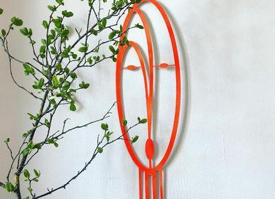 Décoration murale - Masque AKISSI - ATELIER METALART