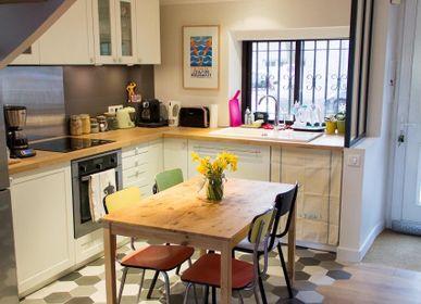 Kitchen splashback - Plain Cement Tiles - ILOT COLOMBO