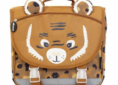 Bags and backpacks - 35cm Satchel Speculos the Tiger - LES DEGLINGOS