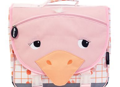 Bags / bookbags - 35cm Satchel Pomelos the Ostrich - LES DEGLINGOS
