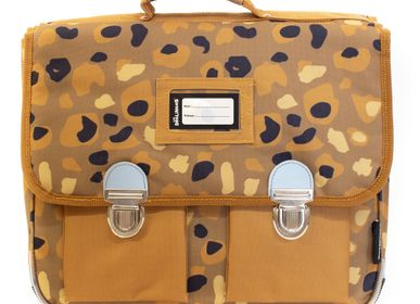 Bags and backpacks - 38cm Satchel Speculos the Tiger - LES DEGLINGOS