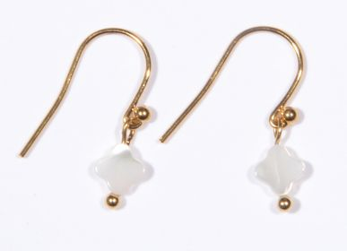 Jewelry - Earings 4 leaf clover - LITCHI