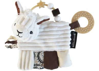 Childcare  accessories - Activity rattle Muchachos the Llama - LES DEGLINGOS