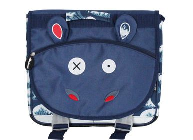 Bags and backpacks - 35cm Satchel Hippipos the Hippo - LES DEGLINGOS