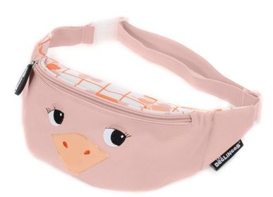 Kids accessories - Bum / Fanny Bag Pomelos the Ostrich - LES DEGLINGOS