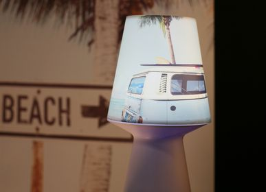 Moveable lighting - NOMADIC LAMP BY THE SEA - PLAGE DES DEMOISELLES
