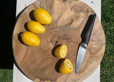 Kitchen utensils - CHOP BOWL Wood accessories for kitchen, chopping boards & fruit bowls - CASA NATURA