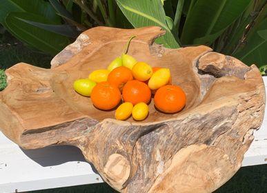 Kitchen utensils - CHOP BOWL Wood accessories for kitchen, chopping boards & fruit bowls - CASA NATURA