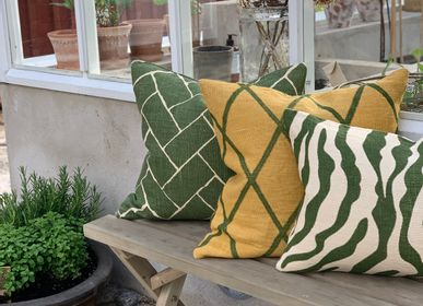 Fabric cushions - Linen cushions - Zebra - CHHATWAL & JONSSON