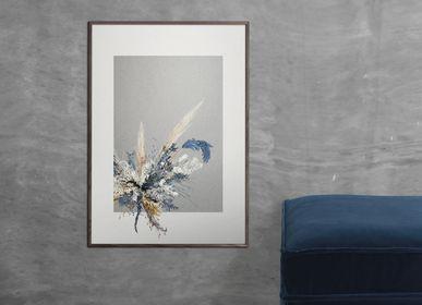 Poster -  Vintage Flower Deco Poster CC2 - CHICURA COPENHAGEN