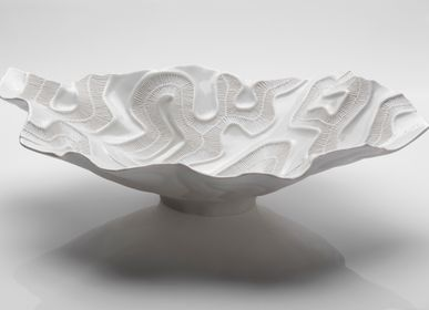 Ceramic - OPEN SEA White centerpiece  - FOS