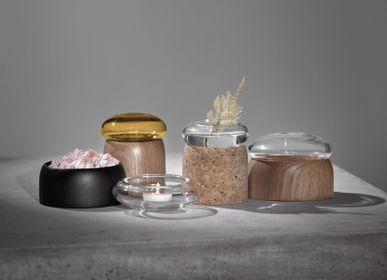 Decorative objects - Boletus Cork/Clear Glass, w. 9 cm - CHICURA COPENHAGEN